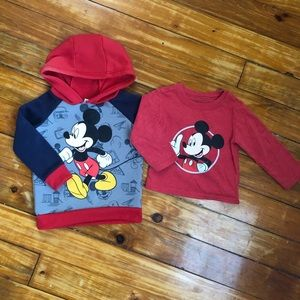 EUC-Disney Baby Top Set